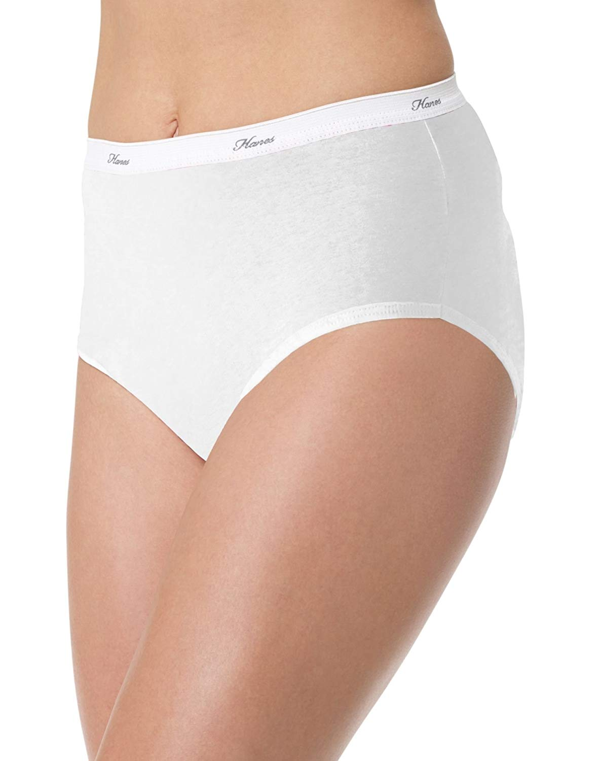 9a53b67547a0 Get Quotations · Hanes Women`s No Ride Up Cotton Panties 6-Pack -  Best-Seller