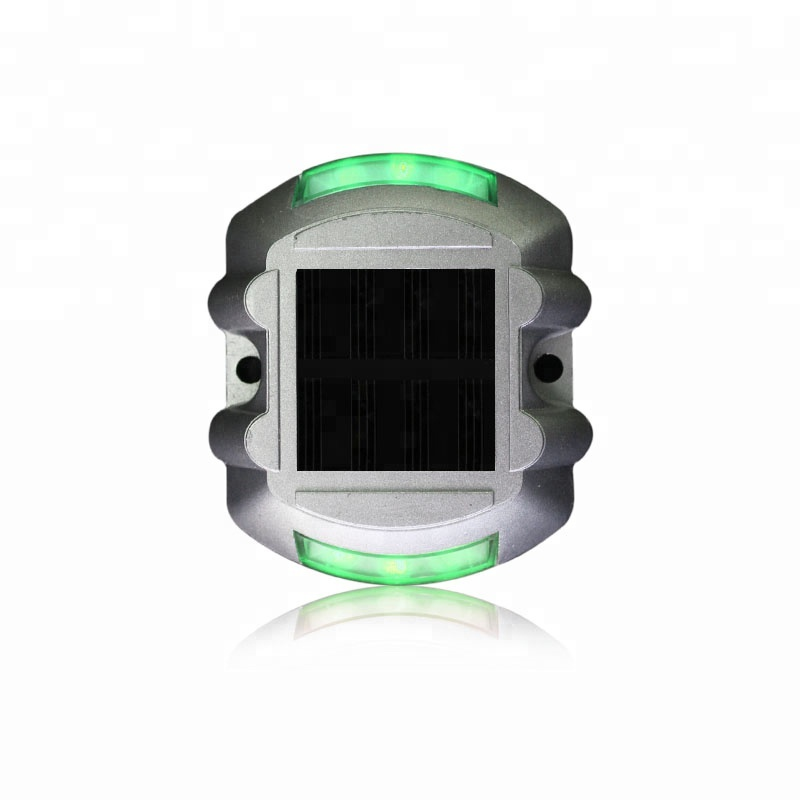 Back To Search Resultssecurity & Protection Smart Red Led Light Steady Mode Horseshoe Design Aluminum Solar Road Stud