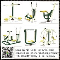 China Suppliers Outdoor Gym Fitness Equipment Exercise (QX-092G)