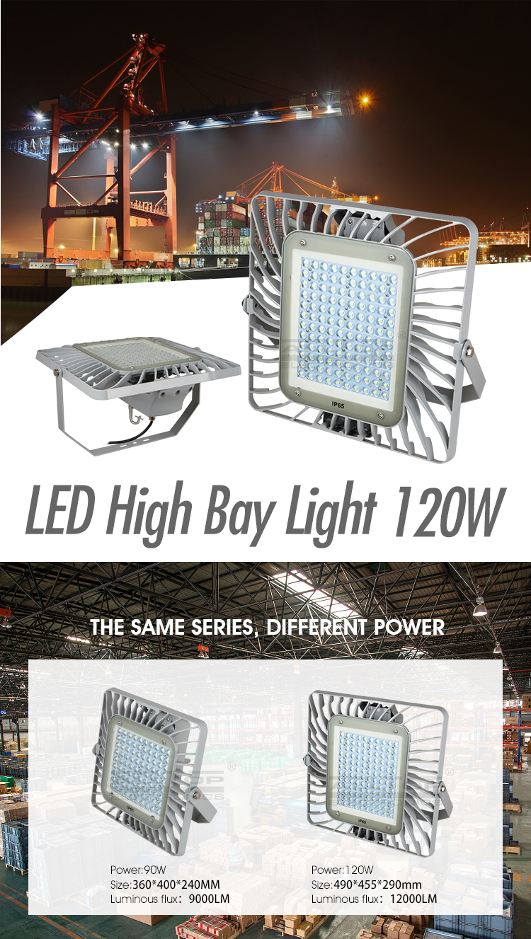 high power CE ROHS commercial energy saving 120w led high bay light
