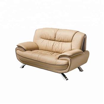 Modern Genuine Leather Sofa Set Living Room Furniture 405 Loveseat