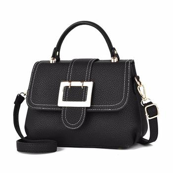 d61ce28ac8e6 bulk wholesale 2018 latest design beautiful girl leather handbags with  extra hanging strap