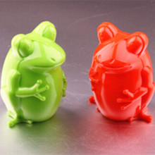 Frog shape Money Saving boxes / money safe box / Plastic Money Jar