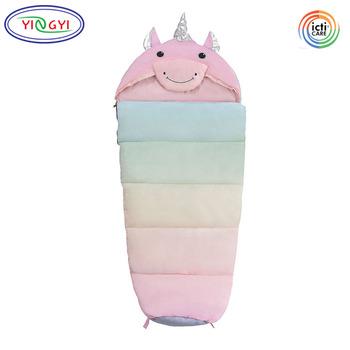 M206 Bedtime Slumber Bag Outdoor Unicorn Sleeping For Child