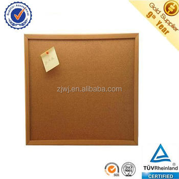 Made In China 1mm Cork Sheet Surface 60x90cm Wooden Frame Decorative ...