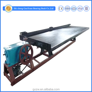 Mineral Processing Gravity 6S Gold Ore Separation Shaking Table For factory Price Sale