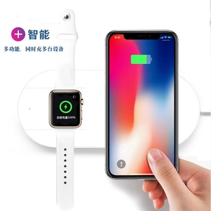 7.5w 10W Fast Charging for iPhone for Apple Watch series 1 2 3 Wireless Charger Mini AirPower Wireless Charger Support