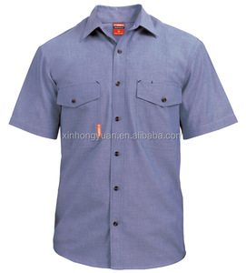 summer short sleeve work uniforms/work shirt