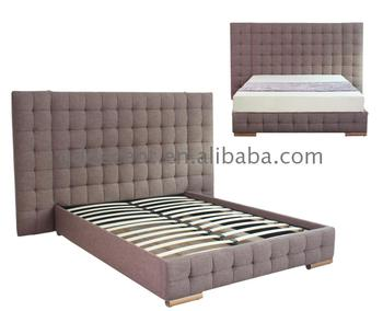 Made In China Steel Sofa Cum Wooden Double Fabric Bed Gold