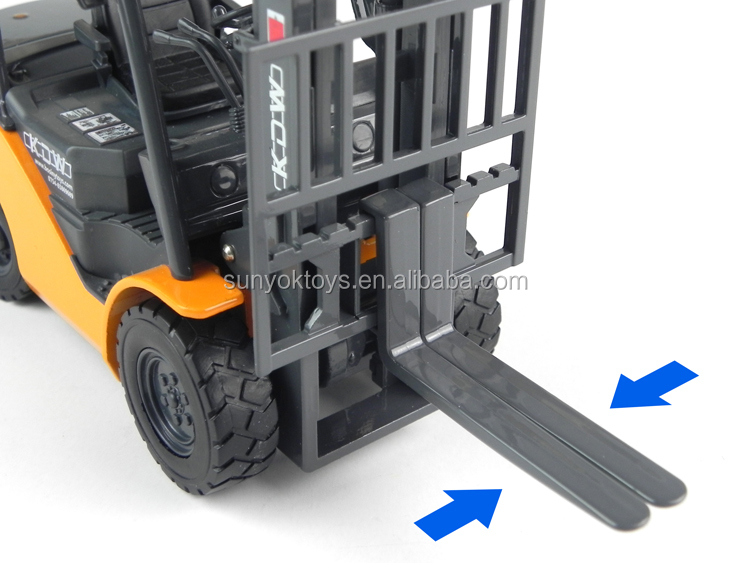 Alloy construction Diecast Model Car 1:20 mini FORKLIFT TRUCK toys