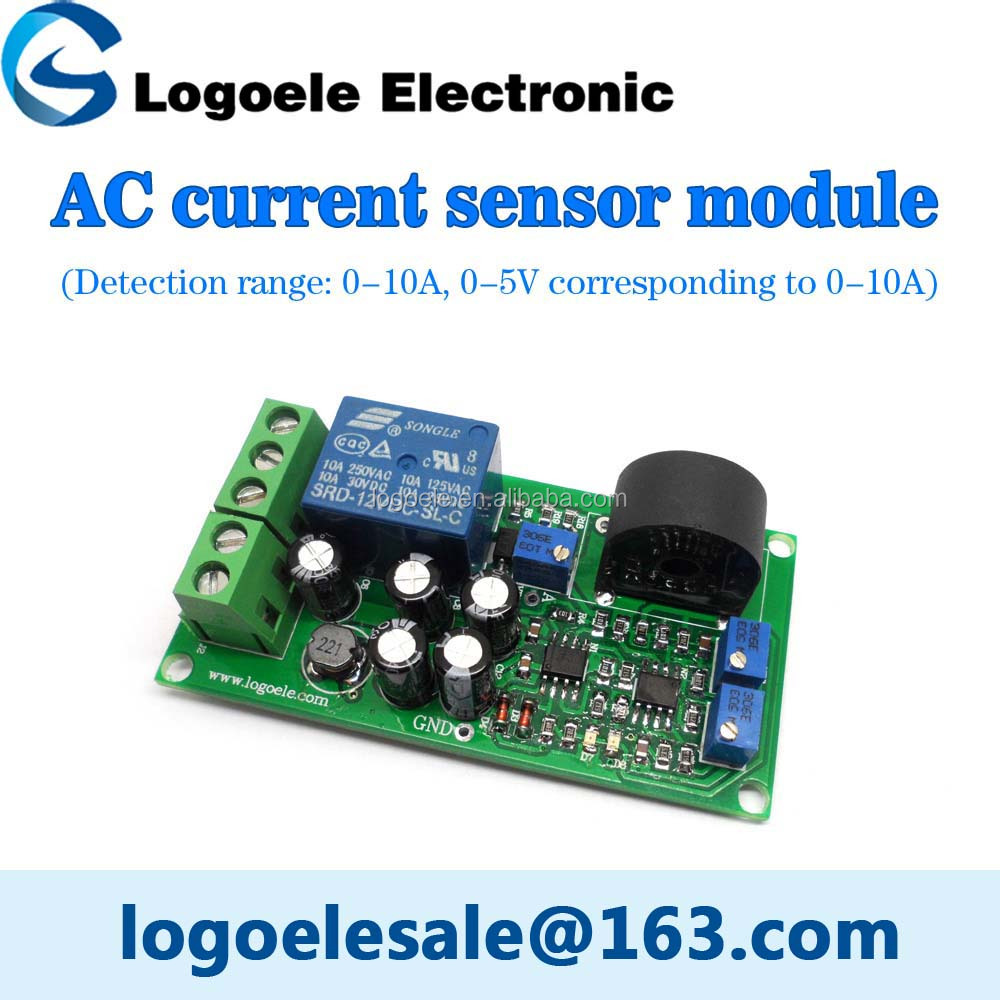 Wholesale 0-10A AC current sensor to detect the full range of ...