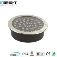 36W high brightness IP67 round led in ground well light