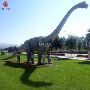 2017 High Quality Animatronic Brachiosaurus Dinosaur Robotic
