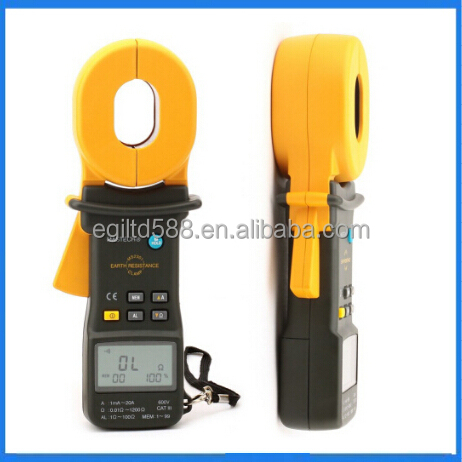 MS2301S Clamp Meter Earth Ground Resistance Tester Meter / Resistance Detector / Megger / Meg Ohm Meter
