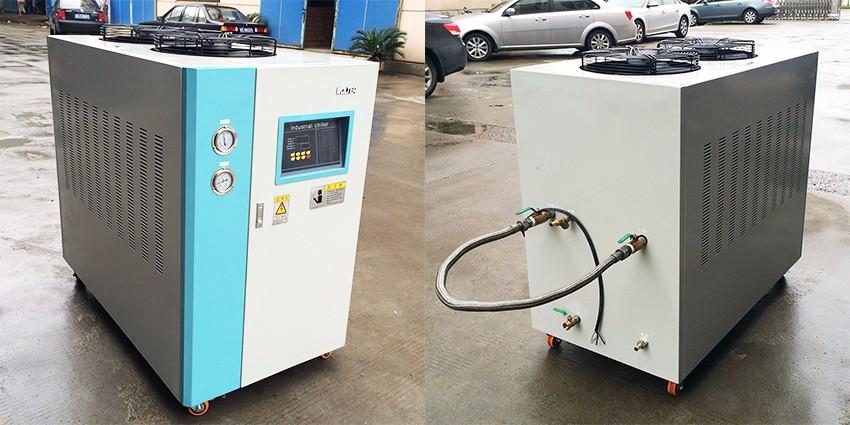 China Professionele Vervaardiging Nieuwe Technologie 2 ton industriële luchtgekoelde inverter water chiller 300 controller