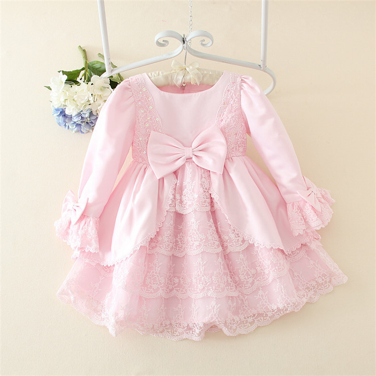 New Girls Princess Baby Fairy Princess Flower Clothes Kids wWdding Dresses On Sale Size for 3-12 years cosplay dress
