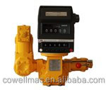 "4"" positive displacement flow meter with printer preset counter nitrogen gas flowmeter"
