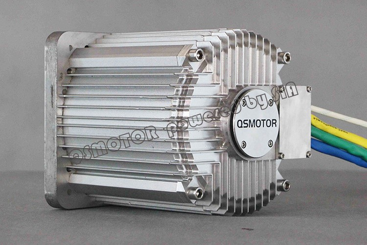 QSMOTOR 8000W 171 100H electric bike mid drive motor for electric motorcycle