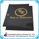 Paper file folder a4 a5 size with gold foil logo custom pockets