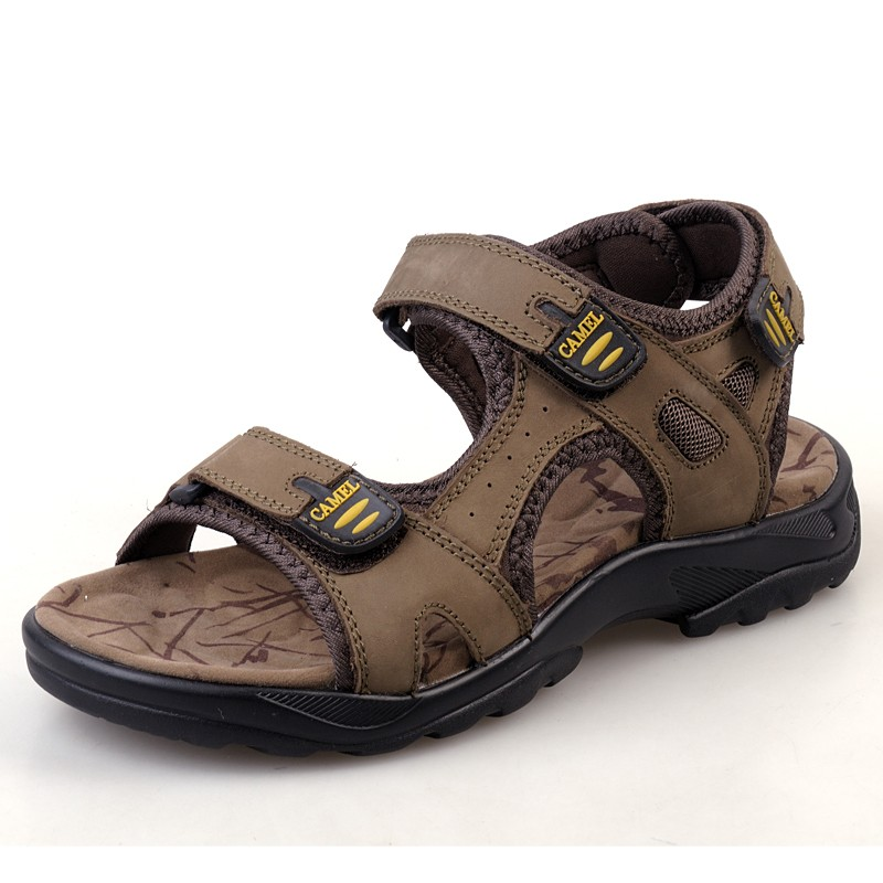 Camel sandals men's sandals slippers genuine leather male sandals casual shoes male sandals male