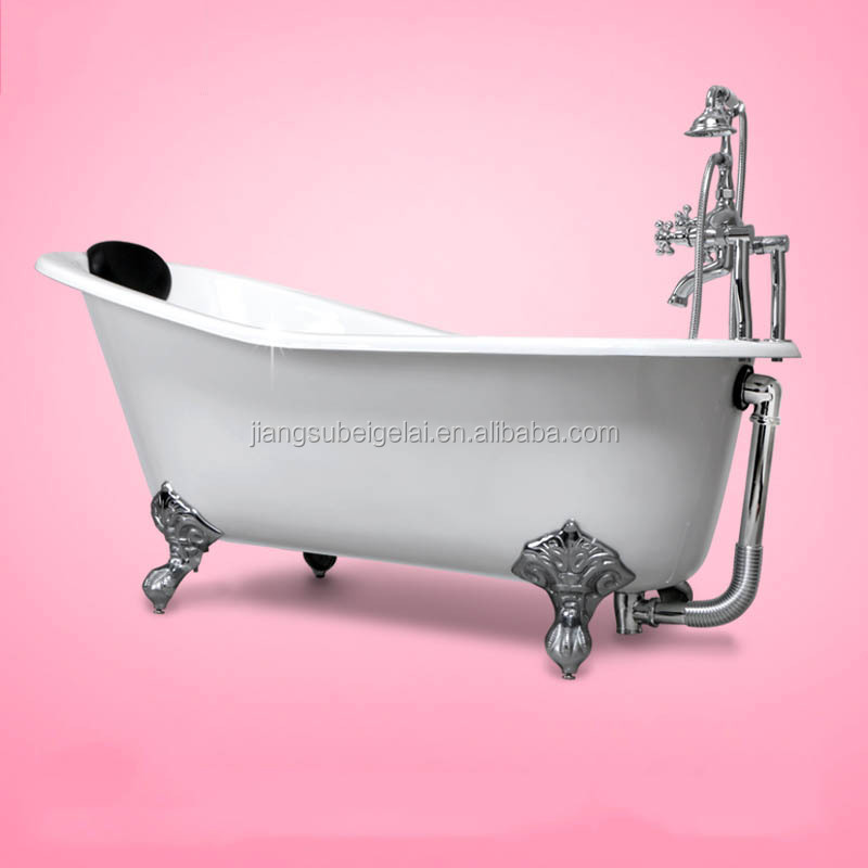 vintage bath and tub with big clawfoot made from cast iron Popular Freestanding Bath Board Folding Bathtub