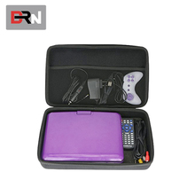 Portable shockproof hard EVA case for DVD player