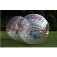 2016 kids/adult outdoor sports toy inflatable zorb rolling ball A2078-4