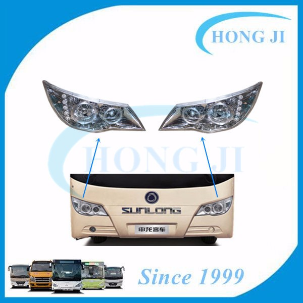 Low Price Bus LED Light H-QZ620X290L Left Head Lamp for Sunlong Bus 6972