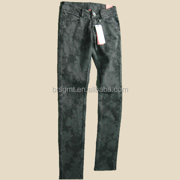 Men's fashion military style trousers New Arrival casual pants/OEM service/China manufacturer