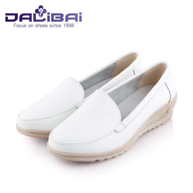 comfortable product flats big single mother women femininas fashion shoes nurse comforter size leather new