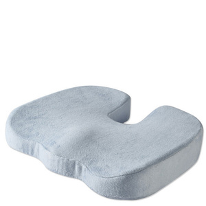 Ergonomic Design Non-slip Beautiful Buttock Orthopedic Memory Foam Seat Cushion For Back Pain