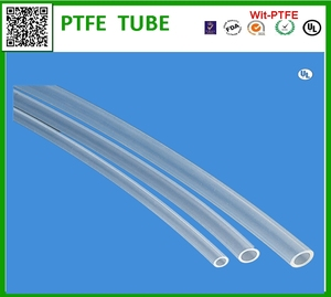 ISO Standard and ptfe Material FEP tube in China