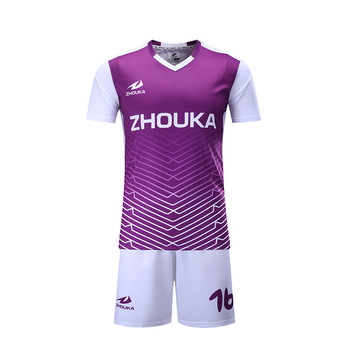 0d84ea8690598 OEM purple 100% polyester digital printing custom design your own football  t shirt sports wear, View 100 polyester sublimation t shirt, ZHOUKA Product  ...
