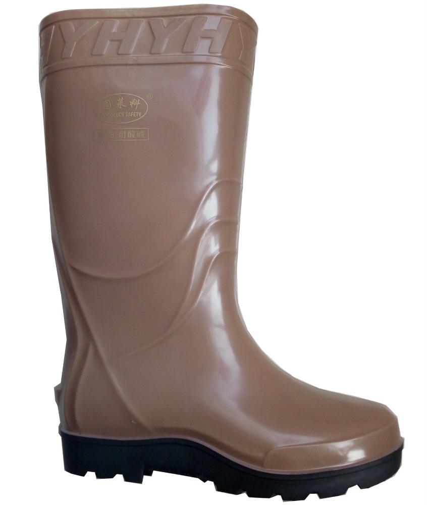 7cba1c3848f bottes de pluie Chaussures et accessoires CE standard plus taille couleur  étanche hommes pvc bottes de ...