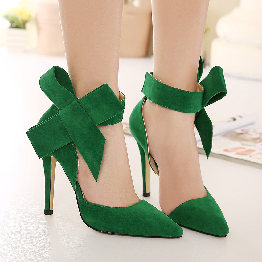 Lime Green Ladies Shoes