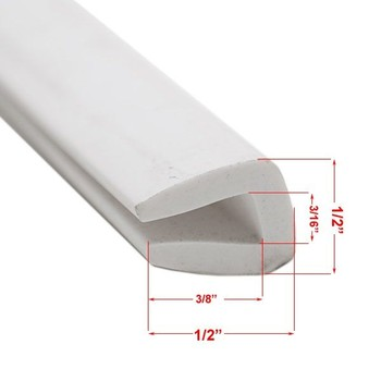 U Channel Rubber Edge Molding Apexwallpapers Com