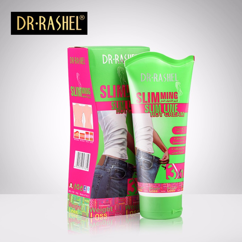 DR.RASHEL Green Tea Collagen Ginger Formula Body Hot Slimming Cream