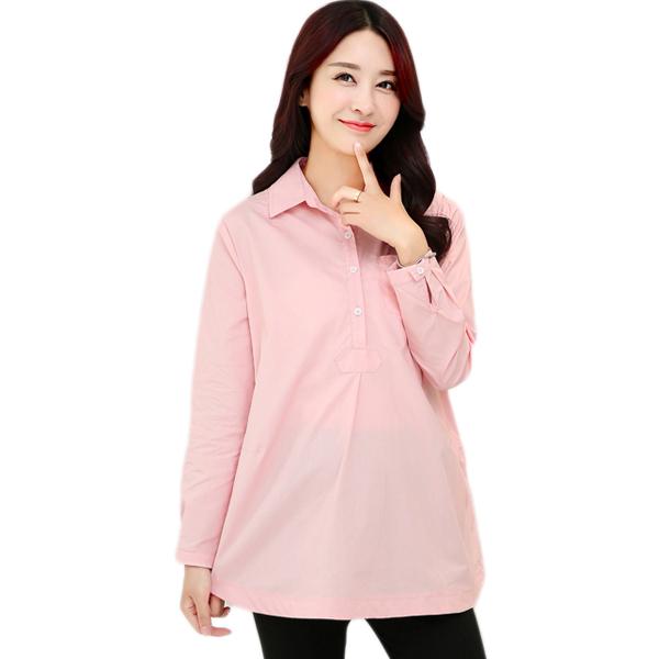 8afca49b3bc51 Get Quotations · Maternity Blouse Plus Size Women's Clothing Blouses for  Pregnant Women Ropa Premama Blusas de Maternidad Maternity