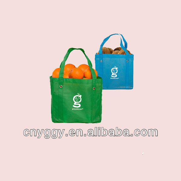 recycled pp non woven grocery bag