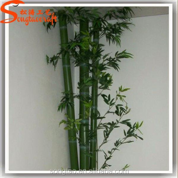 Artificial plantas de bambu de bambu rvore para decora o interior ou exterior artesanato - Bambu planta exterior ...