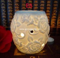 Essential ceramic aroma oil burner for home decoration