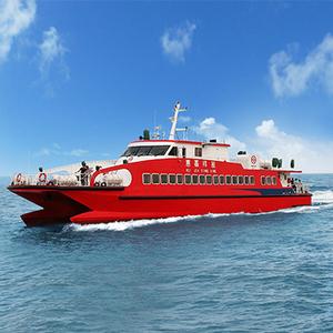 High speed aluminum catamaran passenger boat for sale