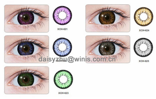 Geo Super Nudy Korean Barbie Doll Eyes 3 Tone Contact Lenses