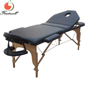 Lettino Da Massaggio In Legno.Firstwell Portatile In Legno Fitmaster Lettino Da Massaggio