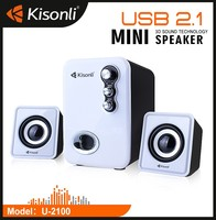 Promotional 2.1 USB Active Speakers Match With Computer CD Player