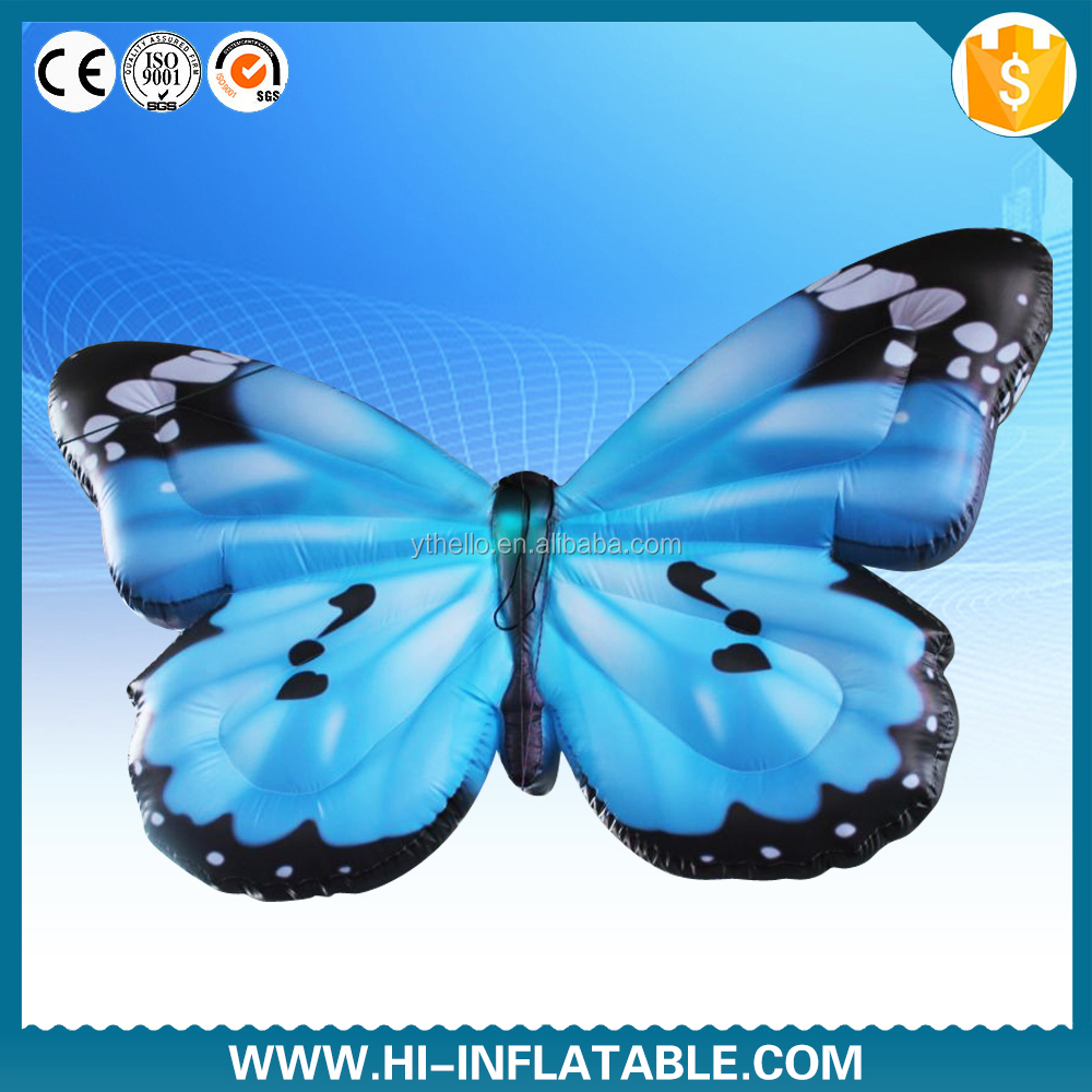 stage decoration inflatable butterfly wings