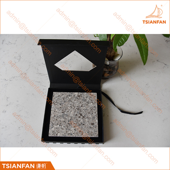 Quartz Stone Plush Display Box for Promotion