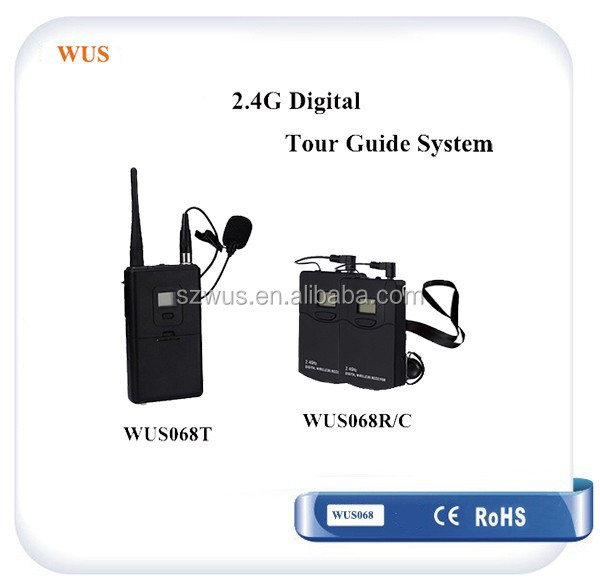 OEM Multi-channel Tour Guide System 50-person Listen 2 speakers for Simultaneous interpretation/Tourism/Conference/Teaching