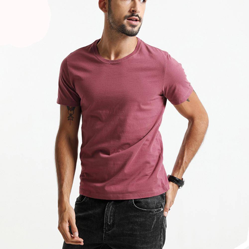 Mannen Compressie Baselayer Korte T Shirts Afslanken Body Shirt