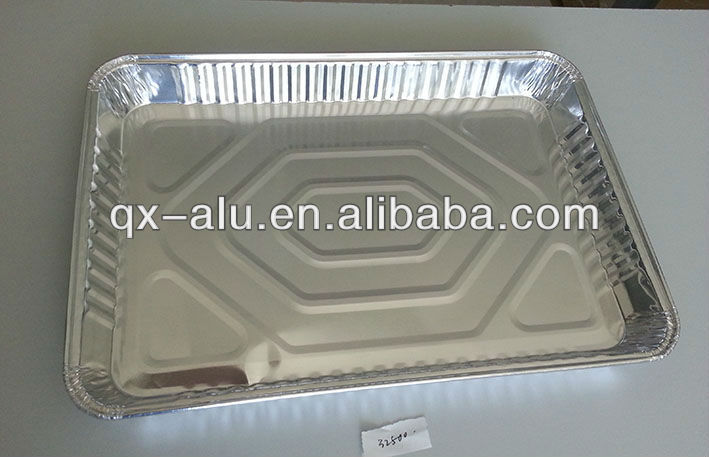 Quanxin different size aluminum foil pan/dish/container